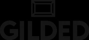 GILDED Logo Black