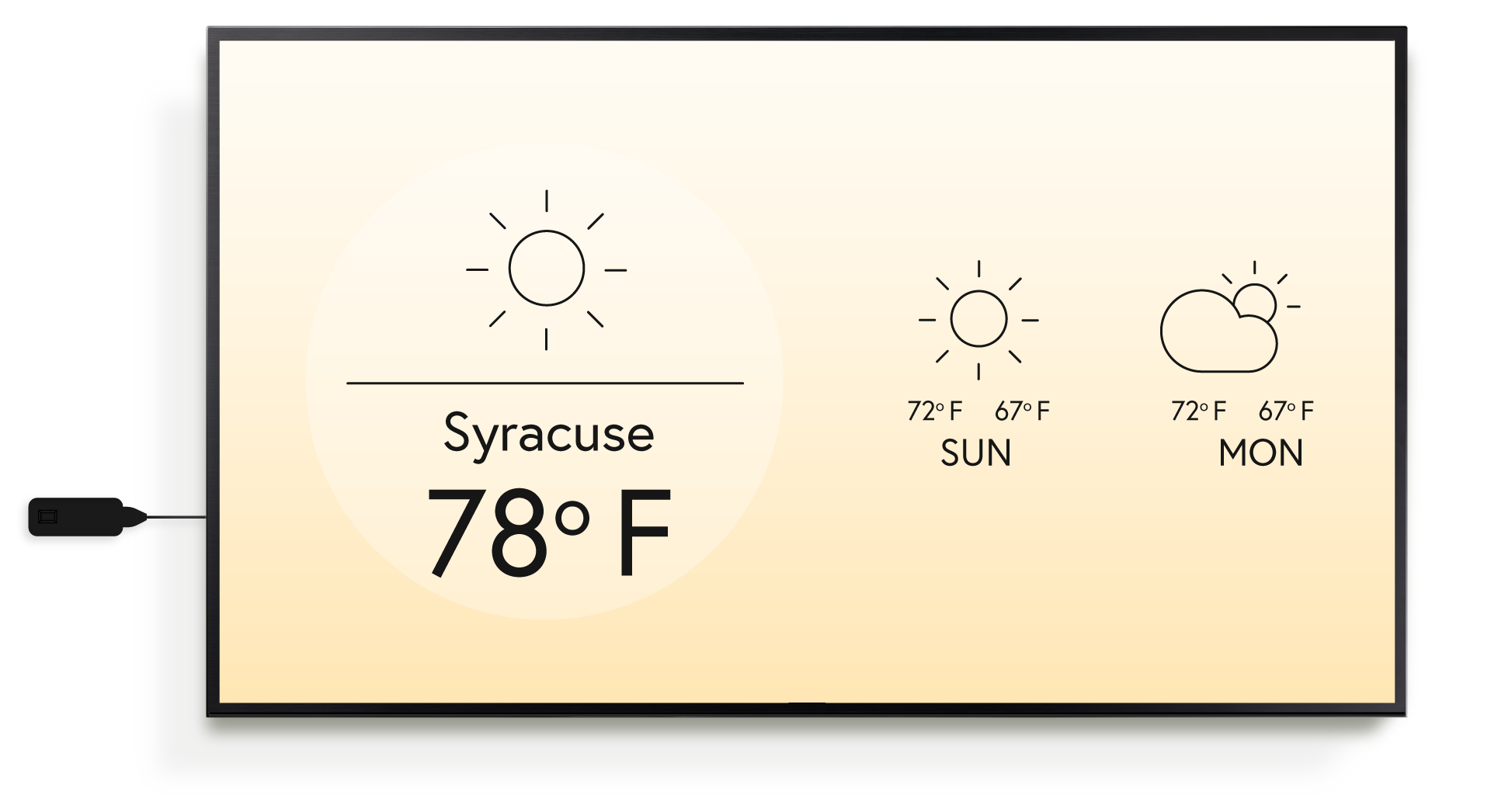 GILDED SIGNAGE | Weather App
